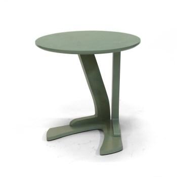 Nieuw ontwerp: tafel voor bij de bank