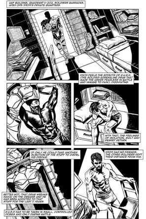 Gothic Geisha #2 Comic pg 23 by Sandra Chang-Adair