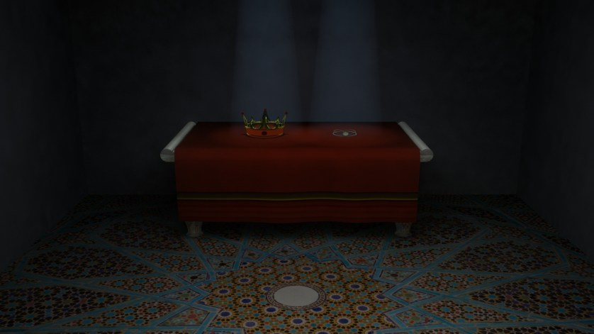 Hemligt rum - Kronrummet