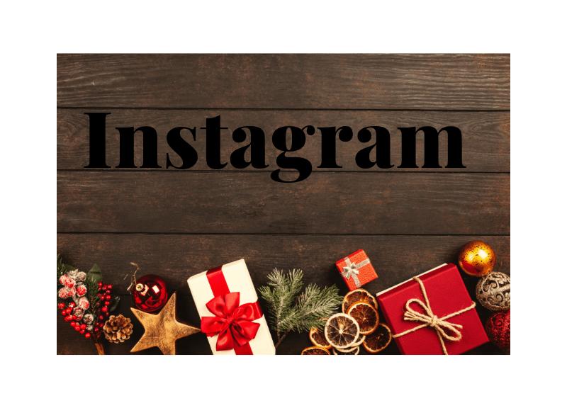 Instagram feestdagen