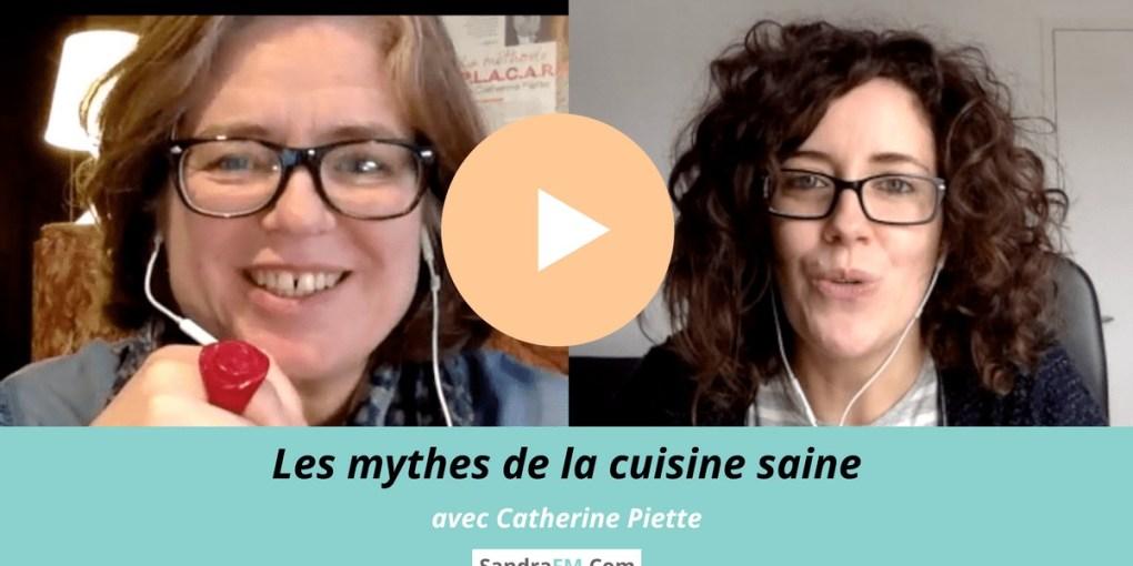 Les mythes de la cuisine saine