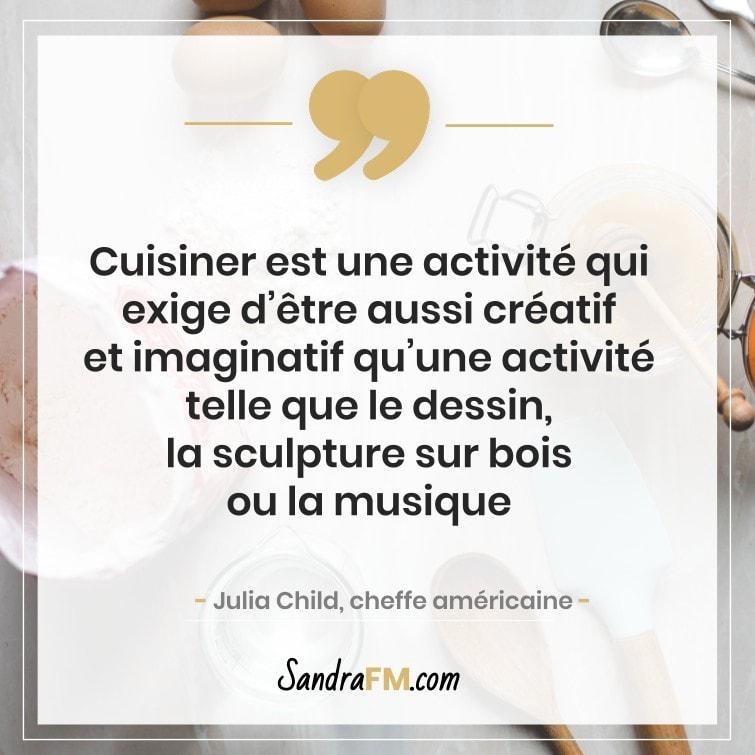 confinement cuisiner creativite sandra fm