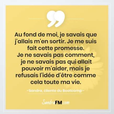 Libre de la fibromyalgie Sandra FM conviction courage