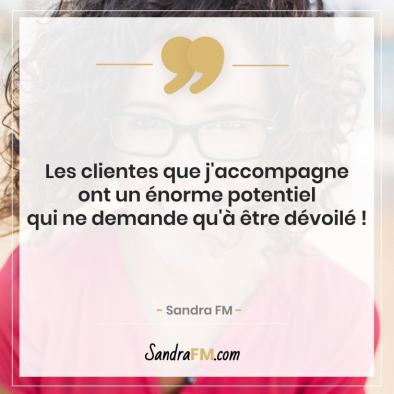 Notre vie est définie par les limites de nos propres pensée croyances limitantes Sandra FM potentiel