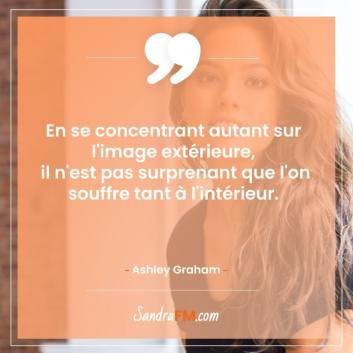 Ashley Graham tedx confiance en soi image sandra fm souffrance
