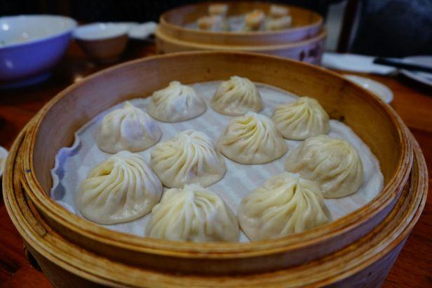 Tratiditonelle chinesische gefüllte Teigtaschen