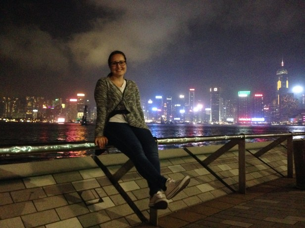 Hong Kong Cenral Skyline