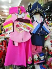 traditionelle koreanische Kleider