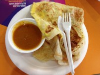 Prata with Egg and Curry