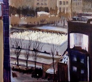 SMucha_Park View in Winter4_acrylic_18x24