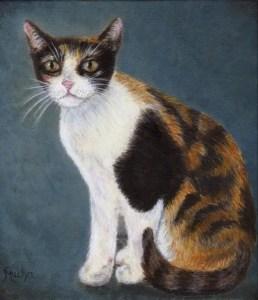 cat pet portait artist