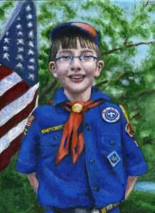 scout portrait artist