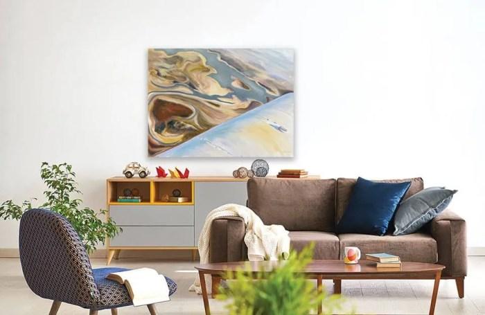 feng shui art for the livingroom