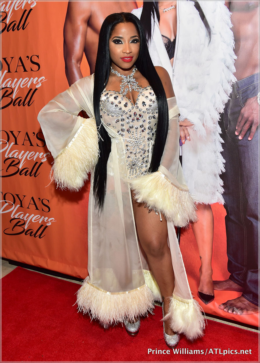 PICS Stars Attend Toya Wrights Players Ball Birthday Party