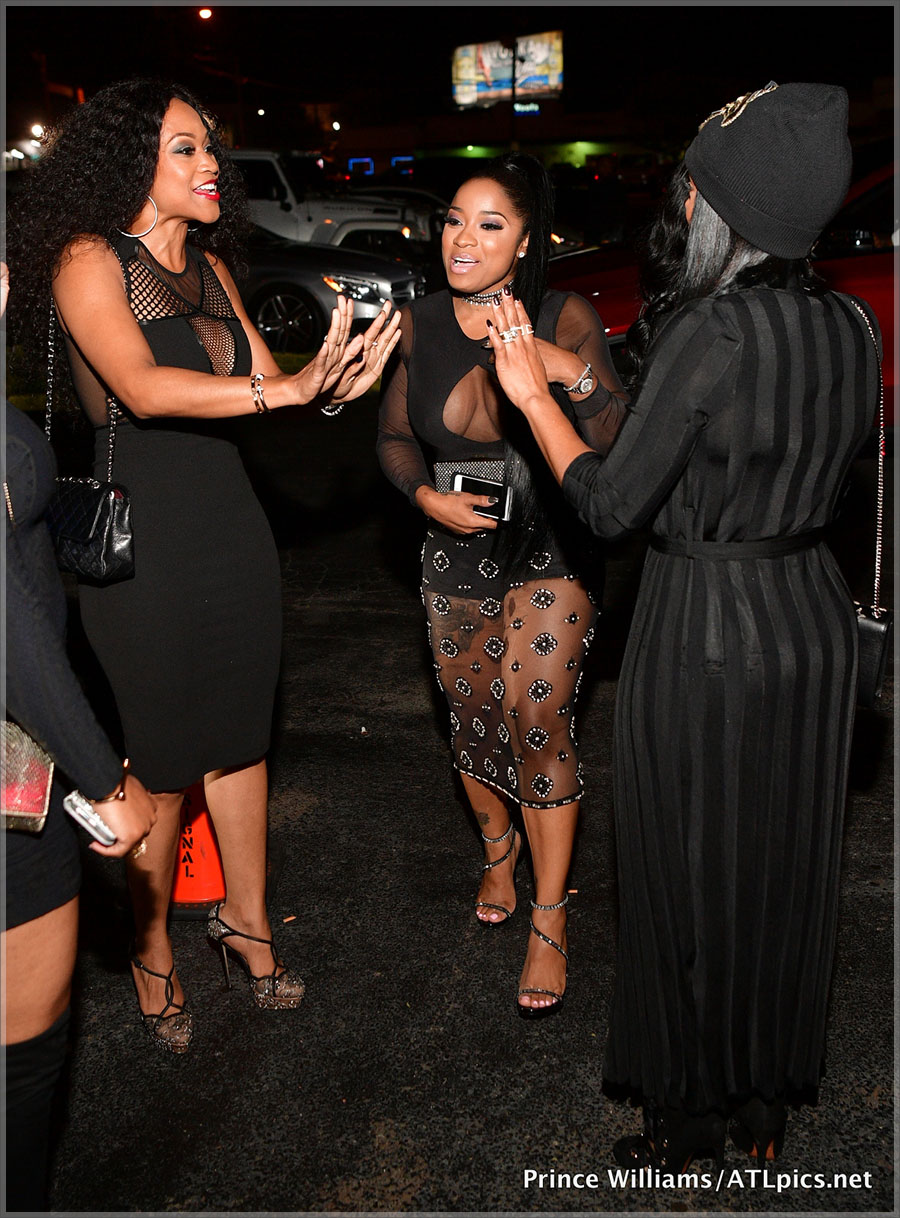 Toya Wright Amp Mr Ruggs All Black Affair At Gold Room