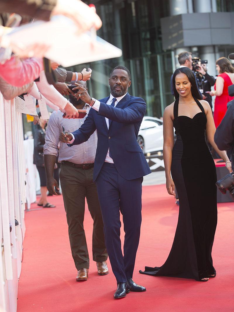 Idris Elba Sabrina Dhowre Sandra Rose