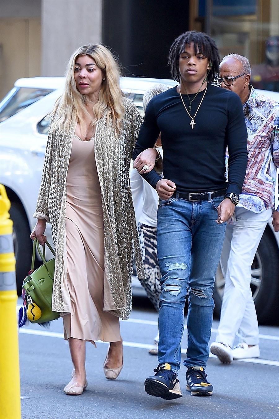 Wendy Williams Was Seen Leaving Sirius XM Studios In NYC