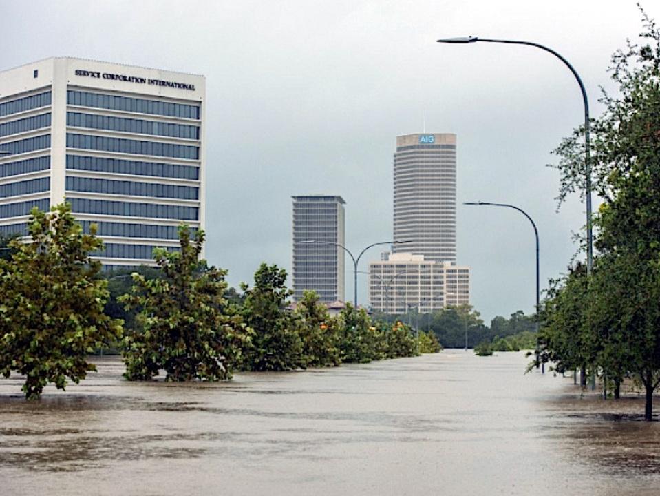flooded Houston