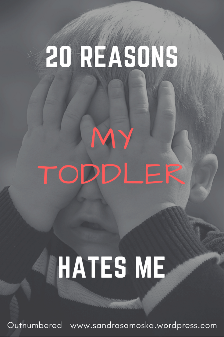 when my young child seems to hate me during a tantrum