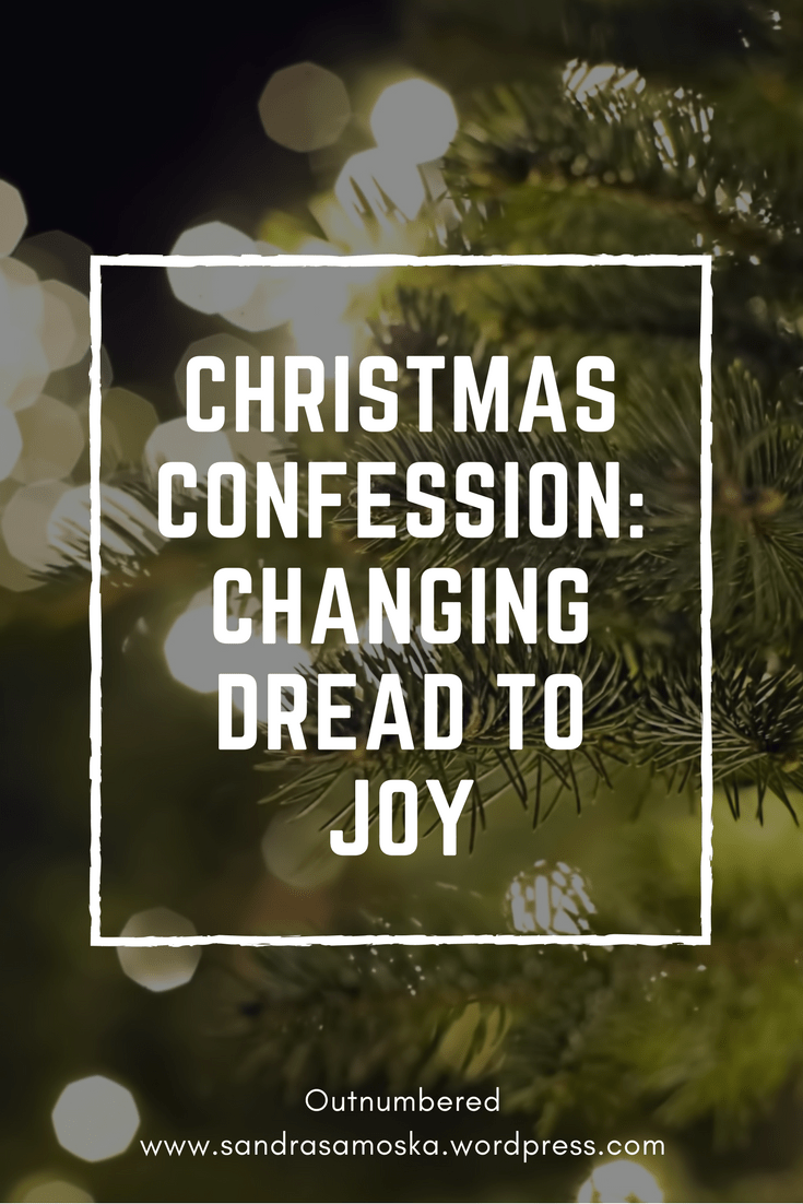 change dread to joy this Christmas