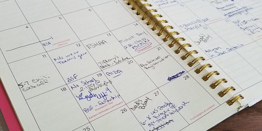 over scheduled