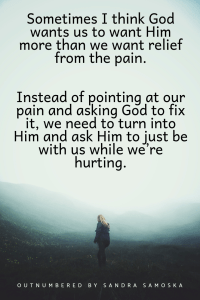 God in our pain