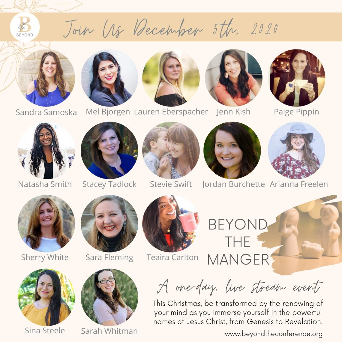 Beyond the Manger Speakers