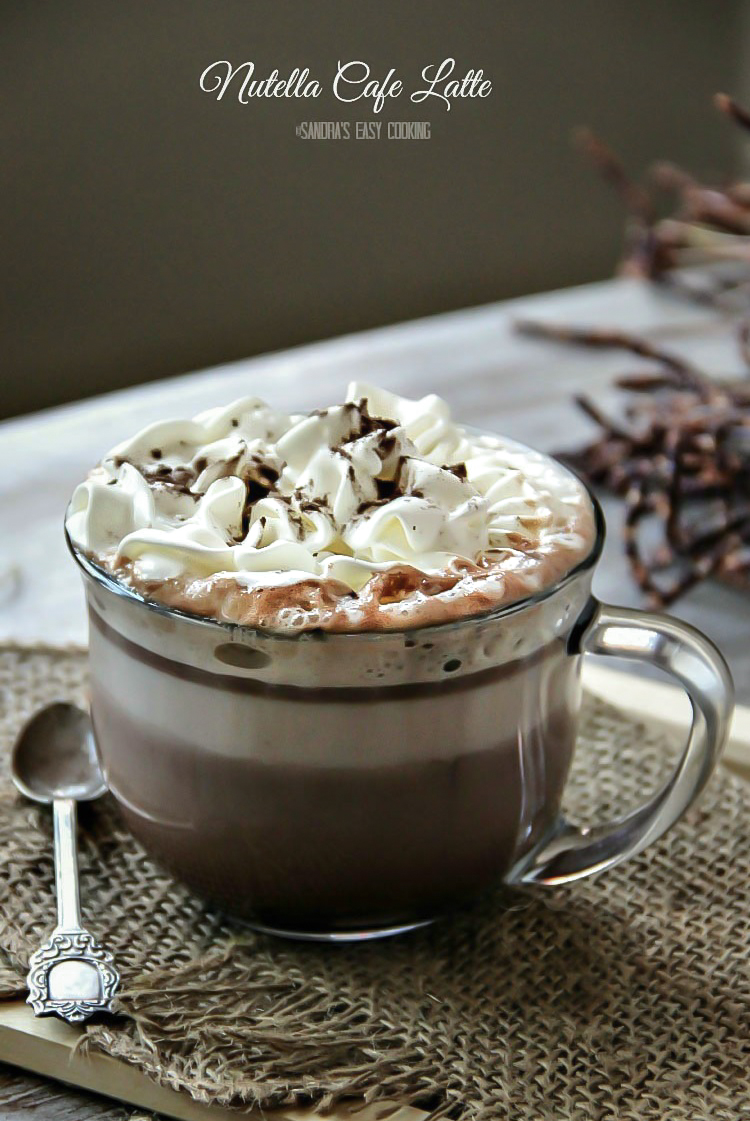 Nutella Cafe Latte - Sandra's Easy Cooking