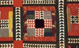 Cover (detail), Afghanistan, 1900-1950 (silk, wool, cotton; patchwork). The Textile Museum, Washington, D.C. Gift of James W. Lankton.