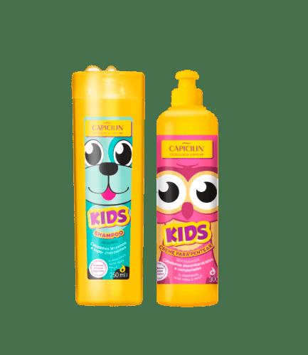KIDS SHAMPOO + CREMA PARA PEINAR