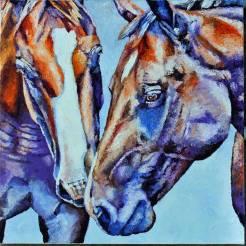horsesclos18x18