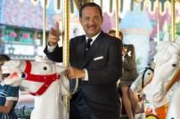"""SAVING MR. BANKS"" - 2013 FILM STILL - Walt Disney (Tom Hanks), left, in Disney's ""Saving Mr. Banks"". Photo by François Duhamel ©Disney Enterprises, Inc. All Rights Reserved."