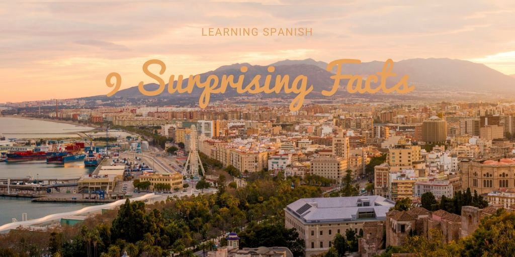 Malaga as a backdrop to surprising things about Spanish