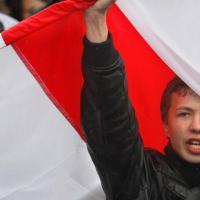 Politika hokeja čempionāta tribīnēs: skandāls ap Baltkrievijas vēsturisko karogu