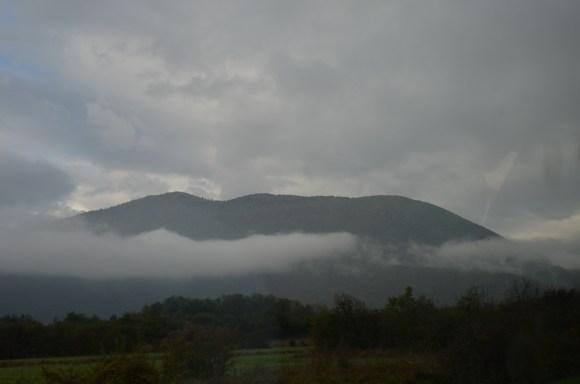 Bosnijas kalni un migla 1