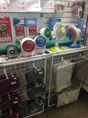 Portatīvie ventilatori
