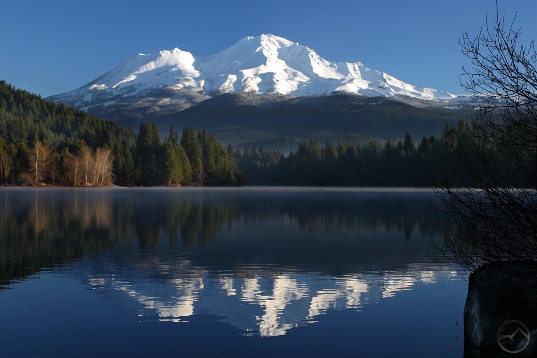 Mount Shasta Lake Reflection