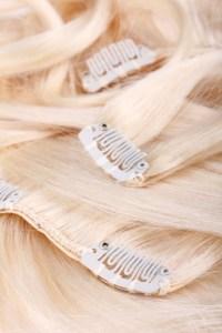 clips cheveux blonds extensions cheveux fins