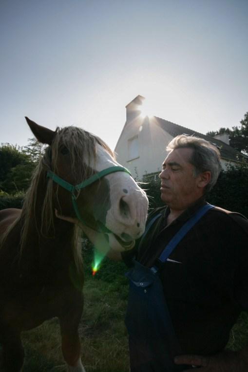 Per-Vari Kerloc'h, grand druide du Gorsedd de Bretagne depuis 2008.
