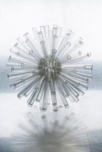 Silver Spark / ∅ 39 cm / 2015 / collection privée