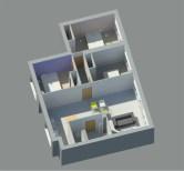 Espaces Conception 3D vue d'ensemble