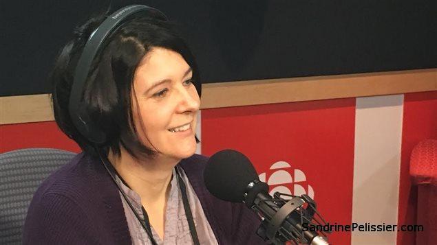 North Vancouver artist Sandrine Pelissier interviewed at Radio Canada