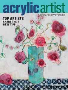 magazines with North Vancouver artist Sandrine Pelissier