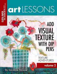 add visual texture online art classes