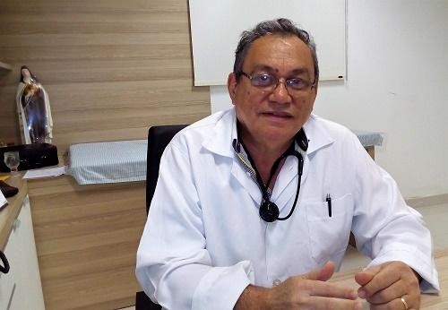 Dr. Walber Rodrigues da Cruz - Médico/Foto: Sandro Vagner