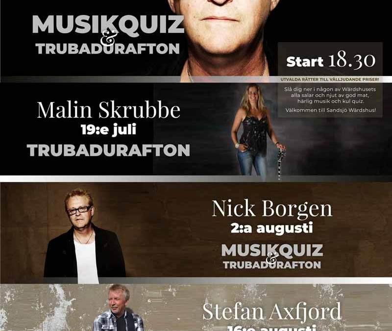 Trubadurafton med Stefan Axfjord