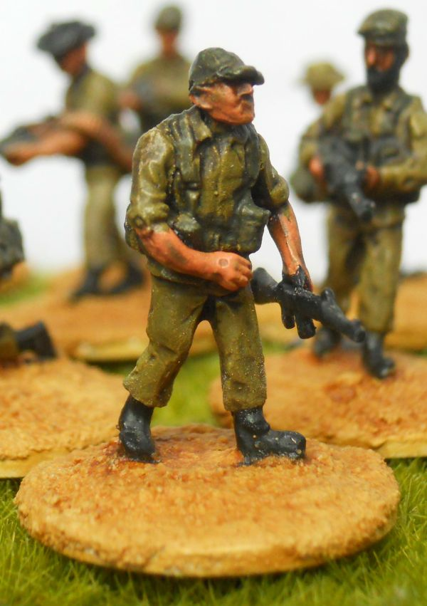 W/Europe armed muilti head infantry pack of 20