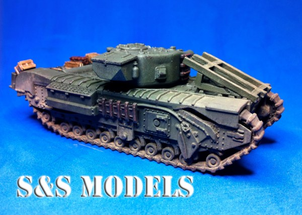 1/72 PSC Churchill & AVRE Fascine/Cradle offer