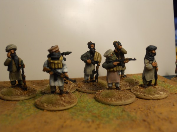 Afghan Mujahideen or Taliban pack of 10
