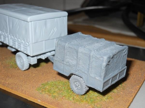 USA M101 3/4 ton gs trailer